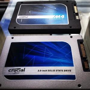 Mano abu SSD diskai CRUCIAL - M4 ir MX100 modeliai
