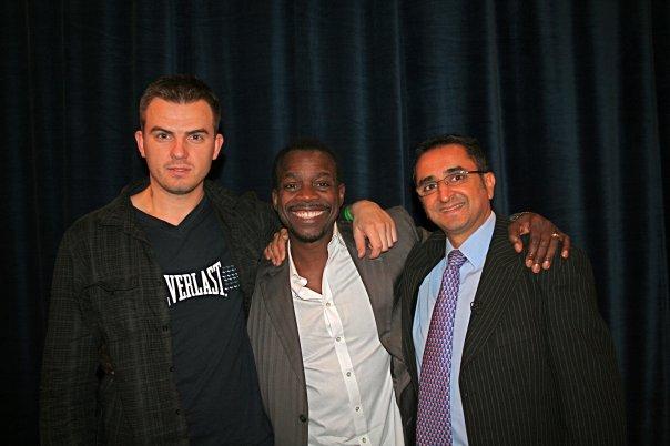 Su Joseph McClendon 2008 m. jo seminare