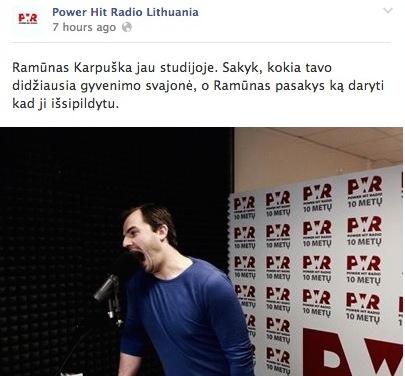 power-hit-radio-ramunas-karpuska-interviu